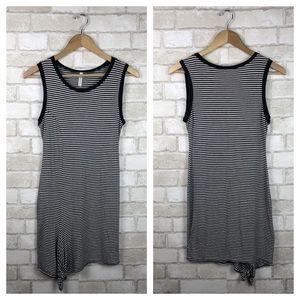 Chocolate USA Black & White Striped Dress